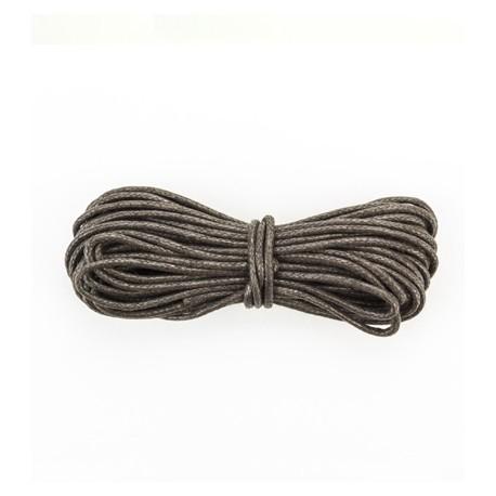 Algodón encerado 1,5mm Marrón Oscuro