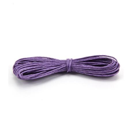 Algodón encerado 1mm Violeta