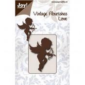 Troquel Vintage Flourishes - Cupidon