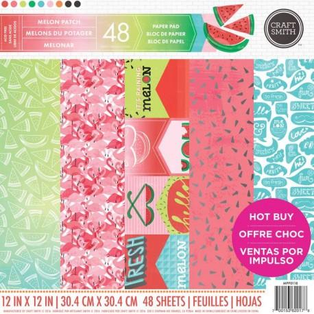 Melon Patch paper pad 30x30