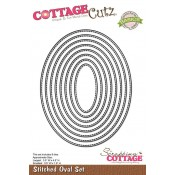 CottageCutz Stiched ovals