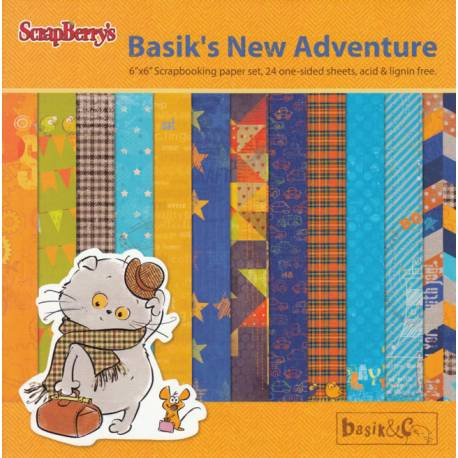 Paper Set 15x15 Basik's New Adventure