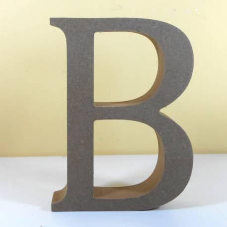 Letra MDF B