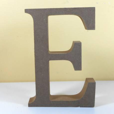 Letra MDF E