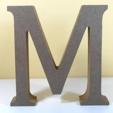 Letra MDF M