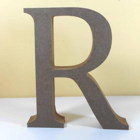 Letra MDF R