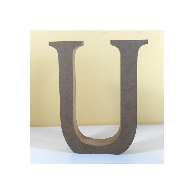 Letra u para decorar en mdf - Formas de letras para decorar ...