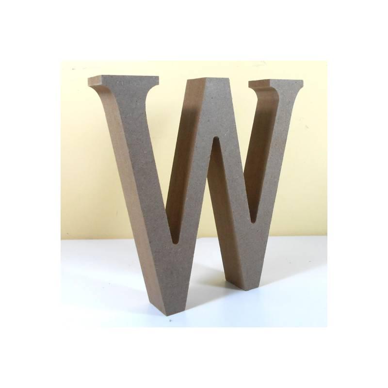 Letra w para decorar en mdf - Formas de letras para decorar ...