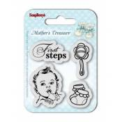 Sellos acrilicos Mother's Treasure - First Steps
