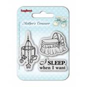 Sellos acrilicos Mother's Treasure - Sleep When I Want