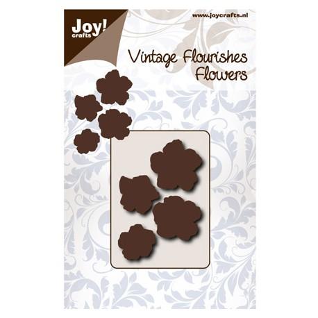 Vintage Flourishes Flor 5