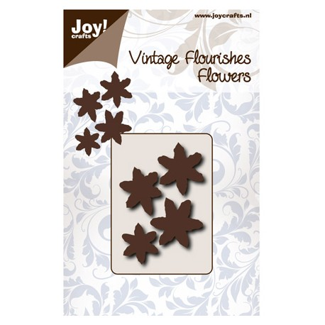 Vintage Flourishes Flor 6