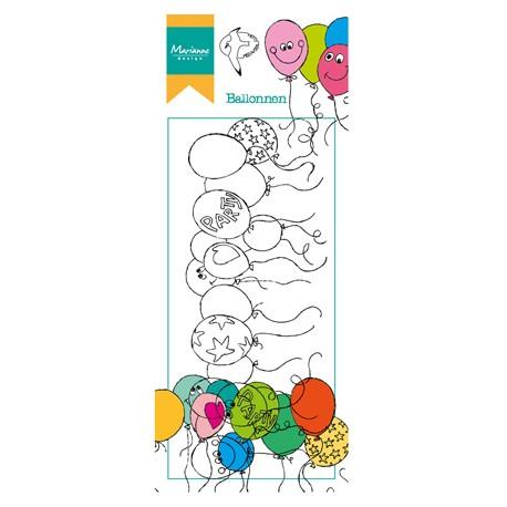 Sello Acrílico Balloons