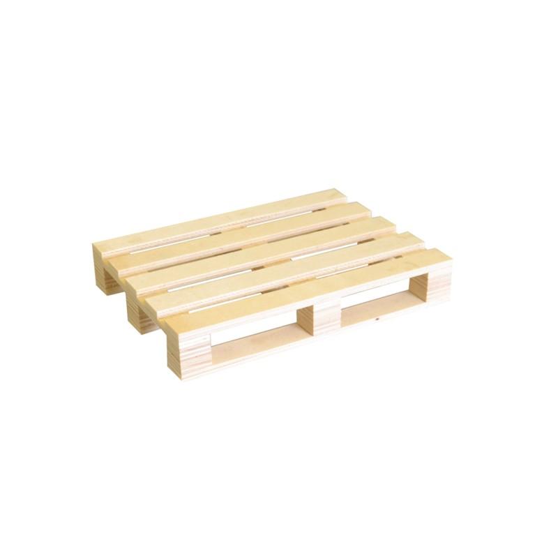 Set de minipalet madera