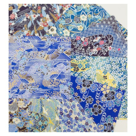Origami Yuzen Blues