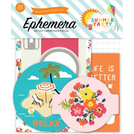 Summer Party Ephemera