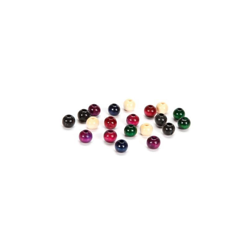 Round Wood Beads 12mm Fashion