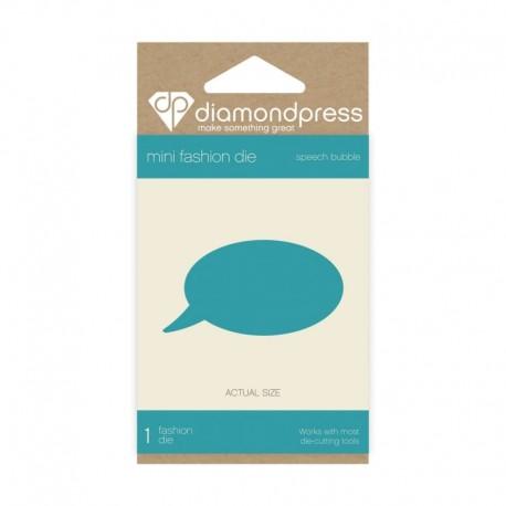 Diamond Press - Dies Speech Bubble