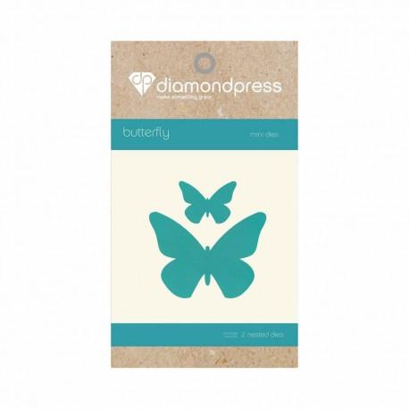 Diamond Press - Dies Butterfly