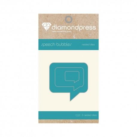 Diamond press - Nested Dies Speach bubble