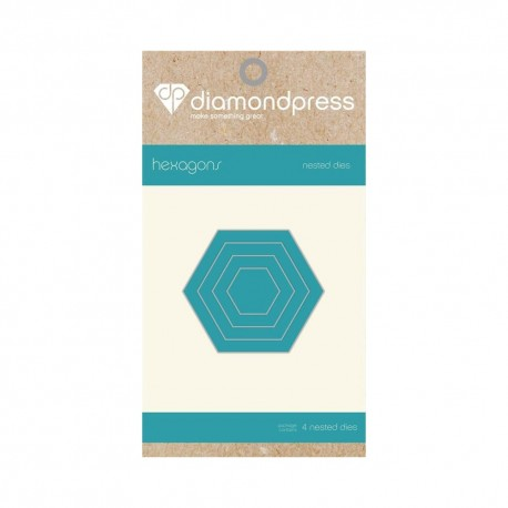 Diamond press - Nested Dies Hexagon