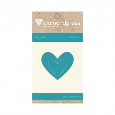 Diamond press - Nested Dies Heart