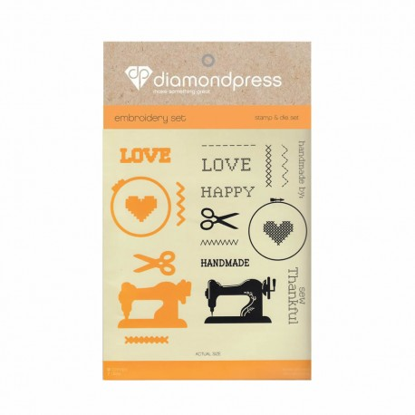 Diamond press - Stamp and dies Handmade