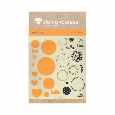 Diamond press - Stamp and dies Love