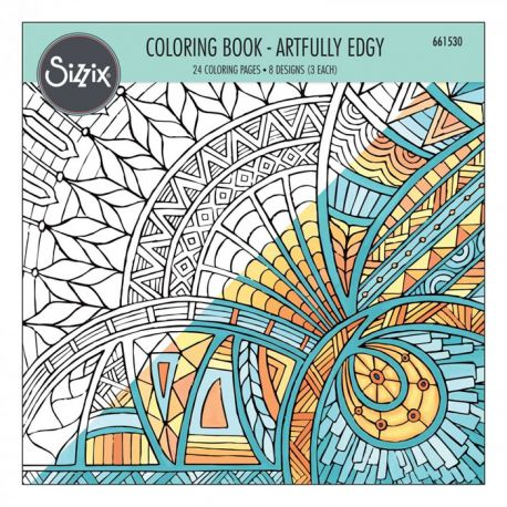 Colouring book - Artfully Edgy