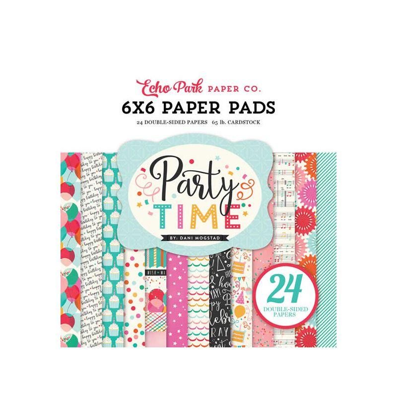 Party time 15x15 Paper Pad