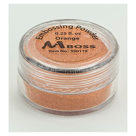 Embossing Powder Orange