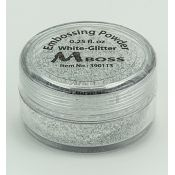 Embossing Powder Glitter White