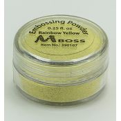 Embossing Powder Rainbow Yellow