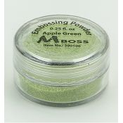 Embossing Powder Apple Green