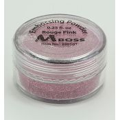 Embossing Powder Red Pink
