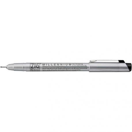 ZIG MILLENIUM 0,65mm Black