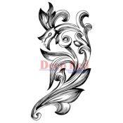 Sello caucho Cling - Fleur Motif