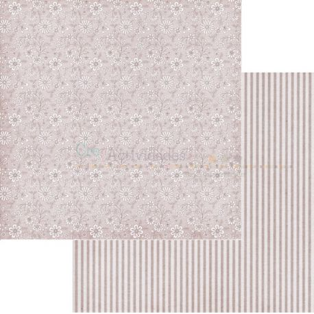 Cartulina decorada para scrapbooking de Scrapberrys Summer Joy - Calico