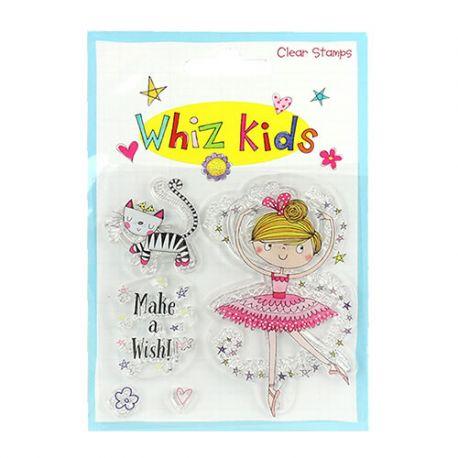 Whiz Kids - Sello Acrílico Bailarina