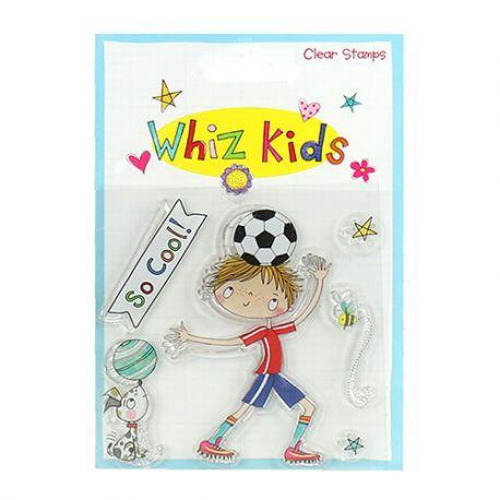 Whiz Kids - Sello Acrílico Futbolista