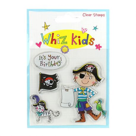Whiz Kids - Sello Acrílico Pirata