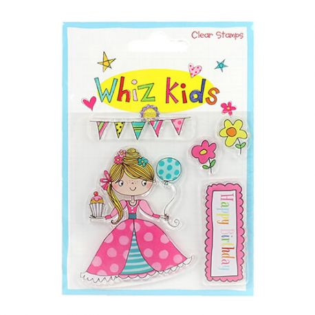 Whiz Kids - Sello Acrílico Princesa