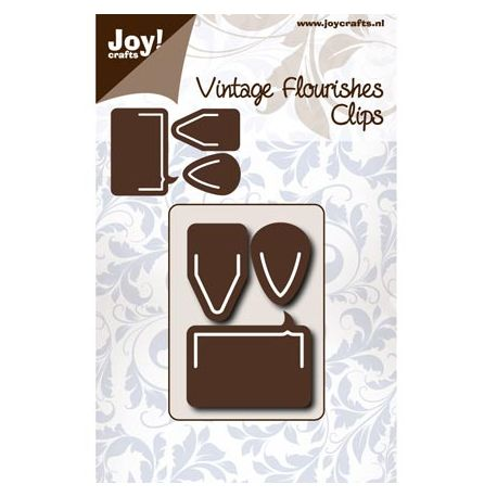 Troquel Vintage Flourishes Clips decorativos