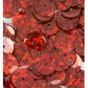 Lentejuelas Laser Disco Rojo
