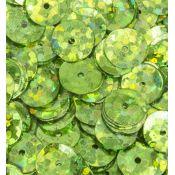 Lentejuelas Laser Disco Verde