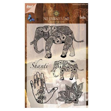 Sellos Acrílicos India Shanti