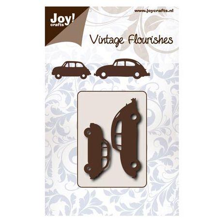 Troquel Vintage Flourishes - Coches