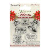 Sellos acrilicos Winter Blooms Holly