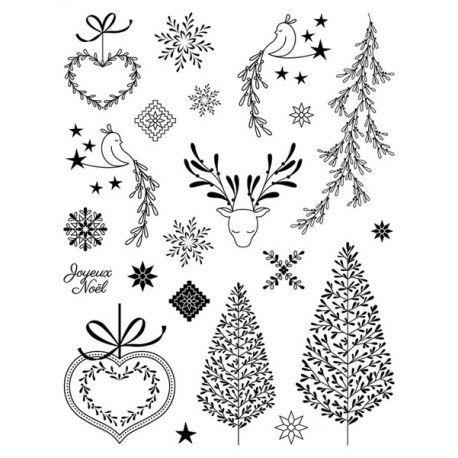 Sellos acrílicos Noël Givré