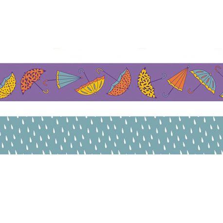 Cintas Washi Tape Paraguas